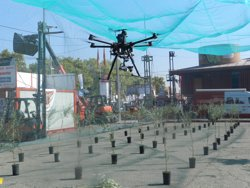 Els drons i l'agricultura de precisió es consoliden en la fira de Sant Miquel-Eurofruit (FIRA DE LLEIDA)