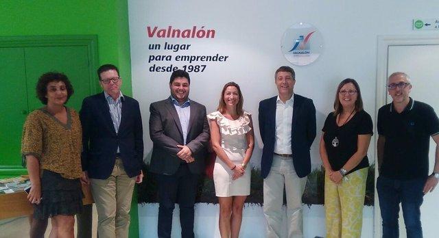 Nota Prensa, Fotos Y Audios Dg Innovación Visita Valnalón Delegación Cabildo Ten
