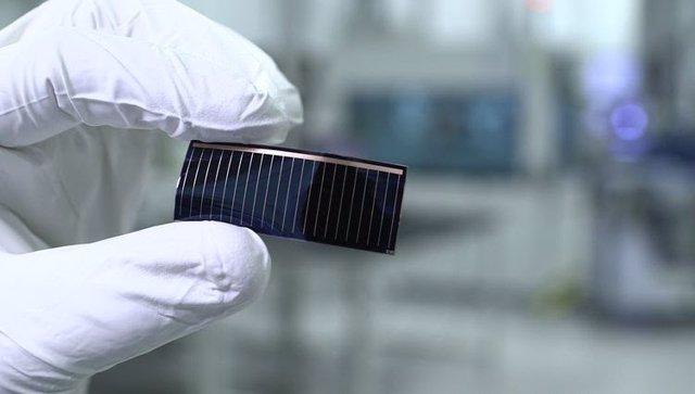 Célula solar de Audi
