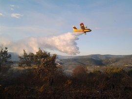 Medio Ambiente realiza un total de 2.246 descargas de agua para sofocar fuegos de C-LM