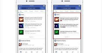 Facebook acompaña los titulares de artículos con el logo del medio de comunicación para combatir las noticias falsas
