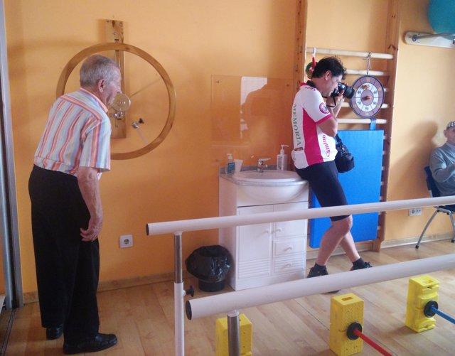 Instalaciones de la Asociación de Alzheimer de Zamora.