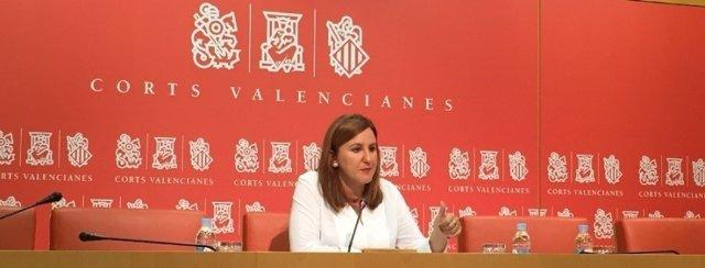 María José Català en las Corts