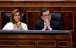 Cospedal i Maíllo encapçalen la representació del PP en la manifestació de Barcelona (EUROPA PRESS)