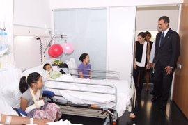 La Casa del Rey aclara que tenía permiso expreso para difundir fotos de niños heridos
