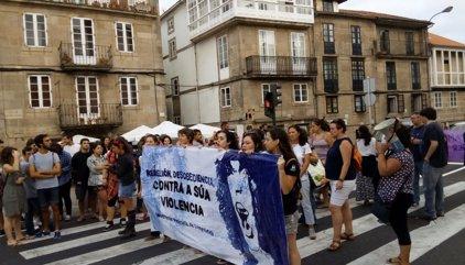"""Cientos de personas piden en Galicia medidas contra """"el terrorismo machista"""""""