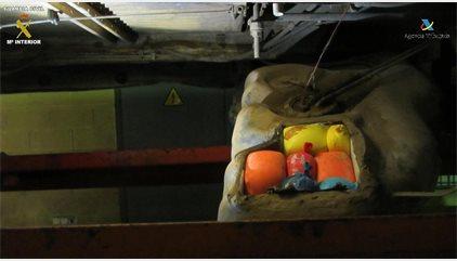 Detenido en Melilla un marroquí con 24 kilos de polen de hachís cuando embarcaba a Almería