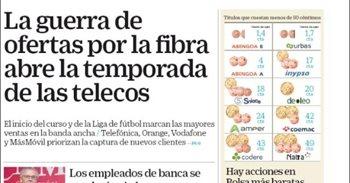 Las portadas de los periódicos económicos de hoy, jueves 24 de agosto