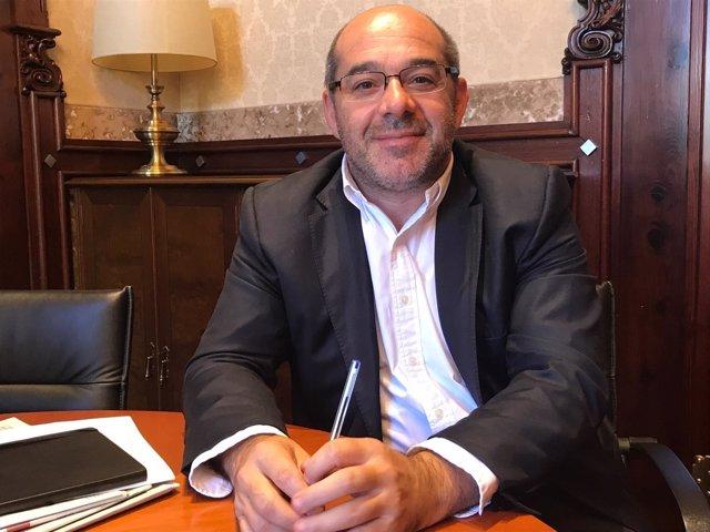 Vicepresidente primero del Parlament, Lluís Guinó