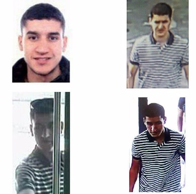 Interior publica las fotos del presunto autor del atropello de Barcelona