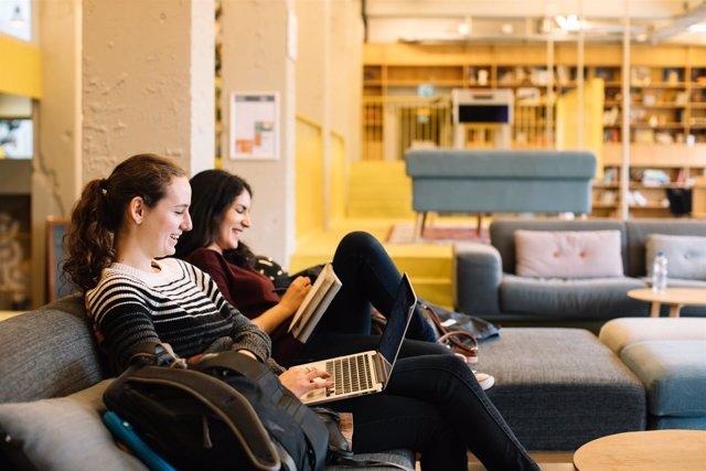 Compartir piso, estudiantes, jóvenes, Erasmus