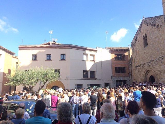 Funeral por 2 víctimas de Rubí en el atentado de Barcelona