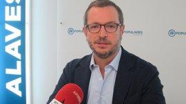 """Maroto (PP) dice que PNV deberá exponer """"exactamente"""" cómo plantea la transferencia de la Seguridad Social y su modelo"""
