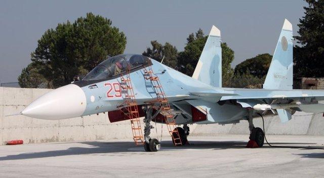Caza ruso en Siria