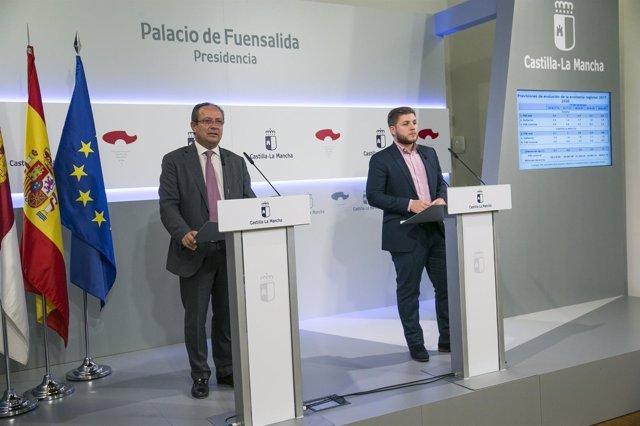 Ruiz Molina en rueda de prensa