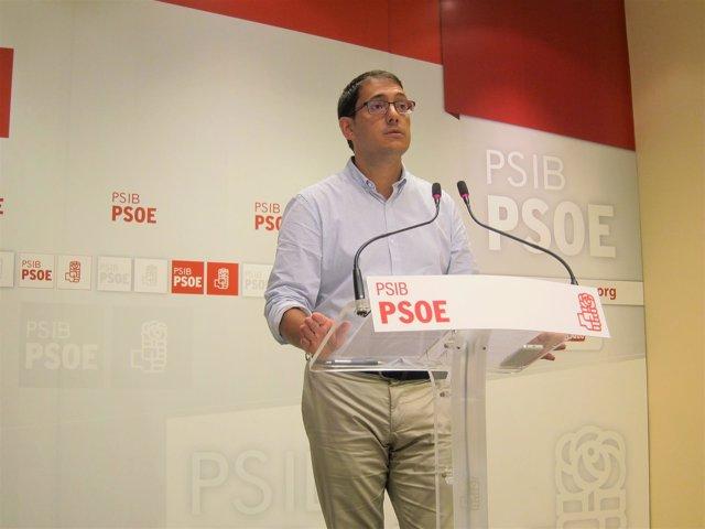 El portavoz del PSIB, Iago Negueruela