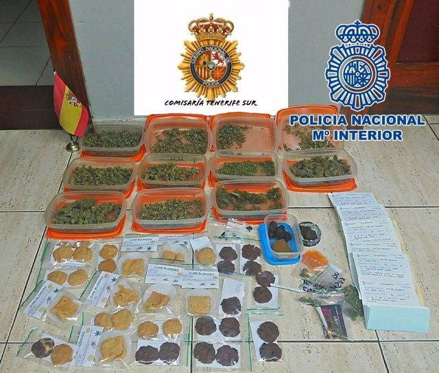 """Nota De Prensa """"La Policía Nacional Interviene Gran Cantidad De Marihuana Con La"""