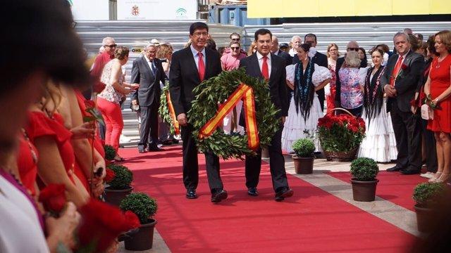 Juan Marín y Juanma Moreno, hoy en Almería