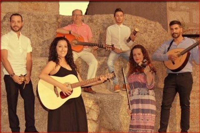 El grupo Alborá Folk