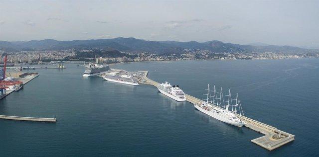 Cruceros málaga puerto
