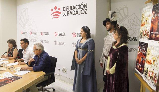 Presentación de la Feria Medieval de Valencia del Ventoso