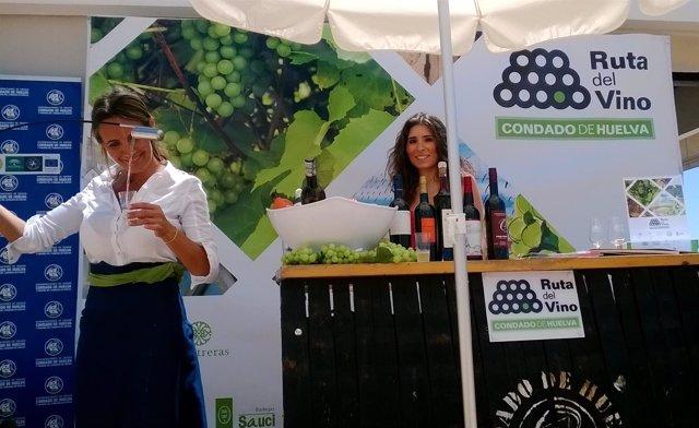 Nota De Prensa Y Fotos Sobre Acción Promocional Ruta Del Vino Del Condado