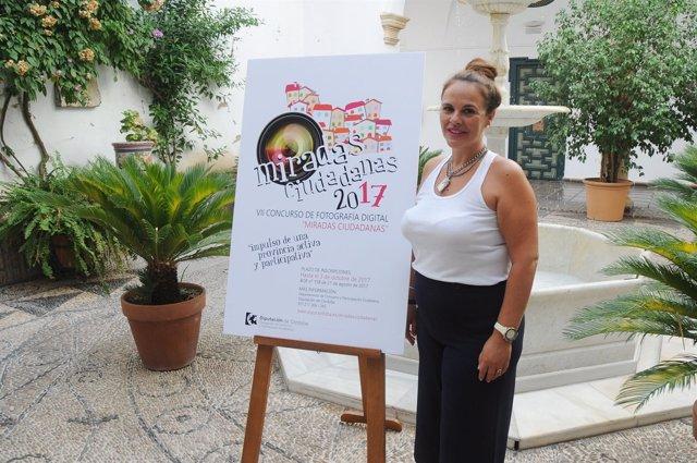 Aurora Barbero presenta el Concurso de Fotografía 'Miradas Ciudadanas'