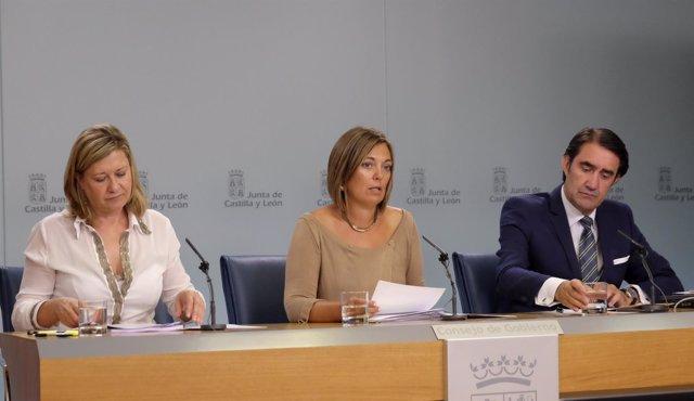 Suárez-Quiñones en la rueda de prensa del Consejo de Gobierno
