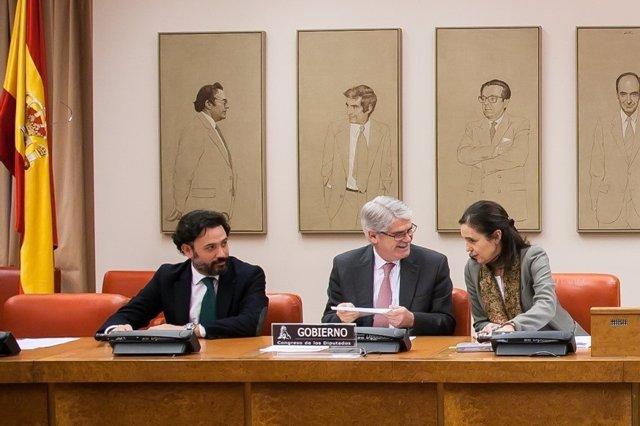 El ministro  Alfonso Datis