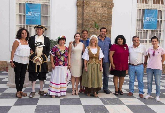 Diputación con la festividad de Algar