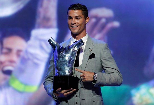 Cristiano Ronaldo, elegido Mejor Jugador del Año de la UEFA