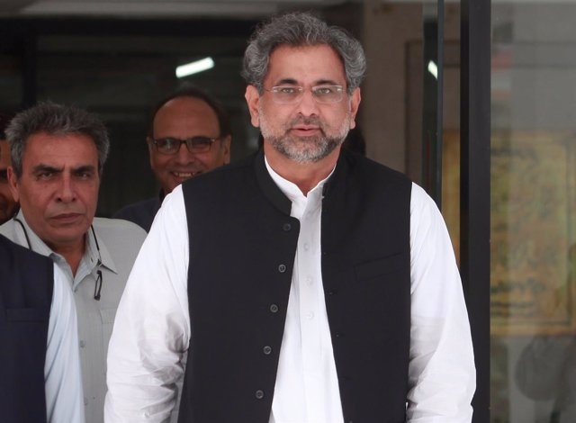 Pakistan's former Petroleum Minister and Prime Minister designate Shahid Khaqan