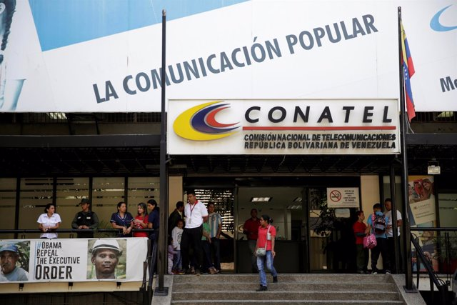 Sede de Conatel en Caracas