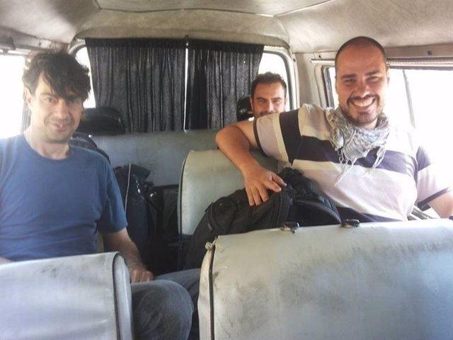 Ángel Sastre y Antonio Pampliega