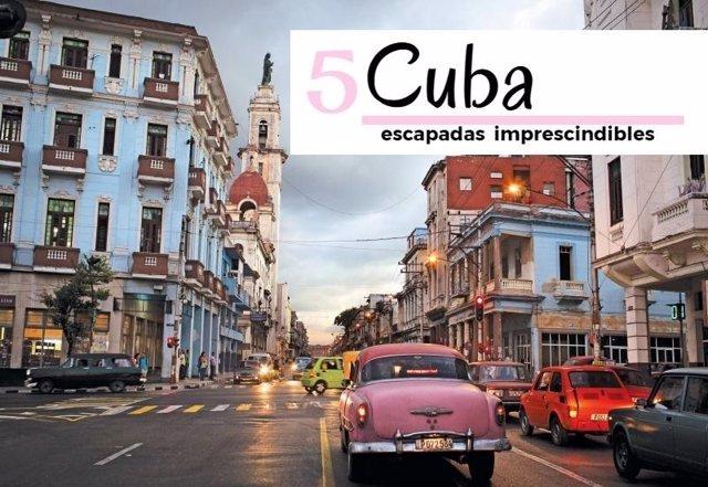 Cuba 5 escapadas