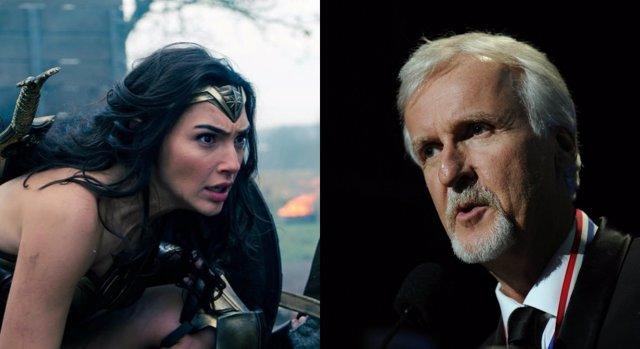 James Cameron critica Wonder Woman