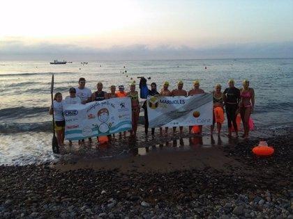 Nadadores de 'Mojate por la vida' apoyan a la Fundación Cris contra el Cáncer para crear la Unidad de Terapias Avanzadas