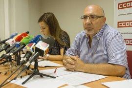 CC.OO. Aragón critica que la creación de empleo se basa en la precariedad y temporalidad