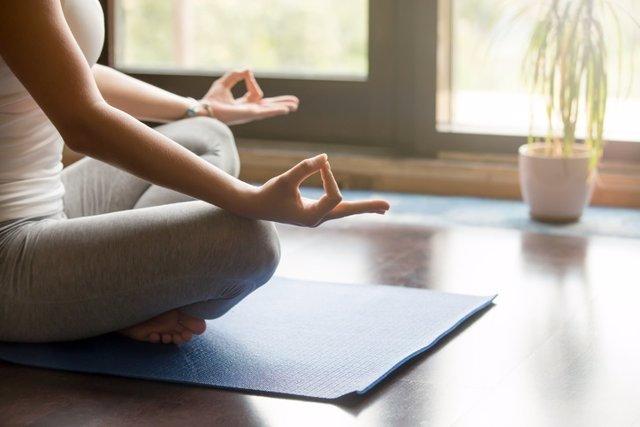 Yoga, relajación, relax, meditación