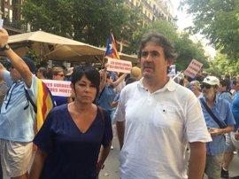 """Atentado.- EH Bildu se solidariza con """"el dolor"""" de los catalanes y su """"coraje ante la intolerancia y el fascismo"""""""