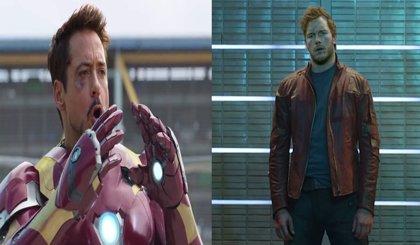 Iron Man y Star Lord, combustión espontánea en Vengadores: Infinity War