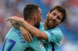 Messi resuelve para el Barça en el debut de Paulinho