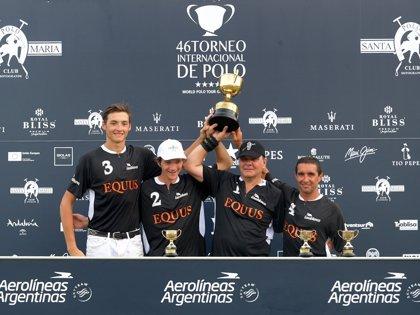 TorneoPolo.- Equus se proclama campeón de la Copa de OroAerolíneas Argentinas de mediano hándicap