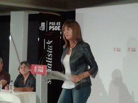 """Mendia busca sumar en el PSE """"a quienes hoy se disgregan por el voto de protesta"""" y unir a los que anhelan la igualdad"""