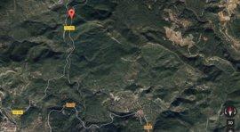 Un motorista de 45 años fallece al salirse de una carretera de montaña en Arañuel (Castellón)