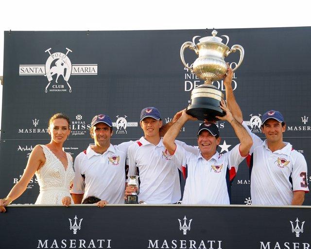 Lechuza Caracas se proclama campeón de la Copa de Plata Maserati alto hándicap