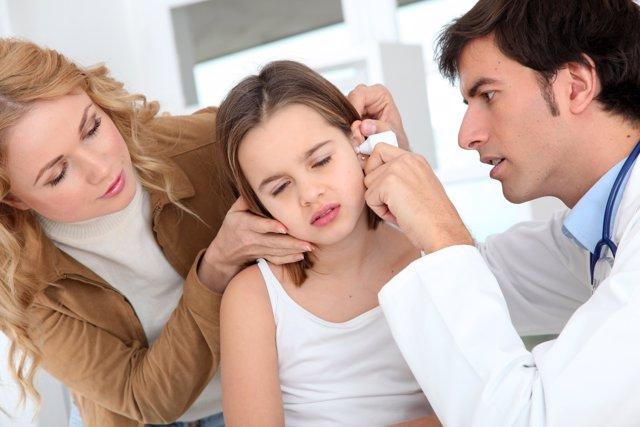 La otitis afecta al 90% de los niños menores de 5 años
