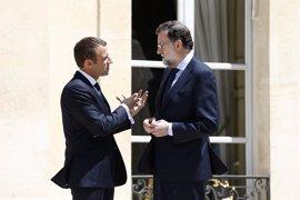 Macron, Merkel, Gentiloni y Mogherini trasladan a Rajoy sus condolencias por los atentados de Barcelona y Cambrils