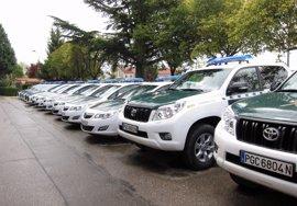 Dos detenidos por atracos en Dueñas (Palencia), Estépar (Burgos) y Pedrajas (Valladolid)