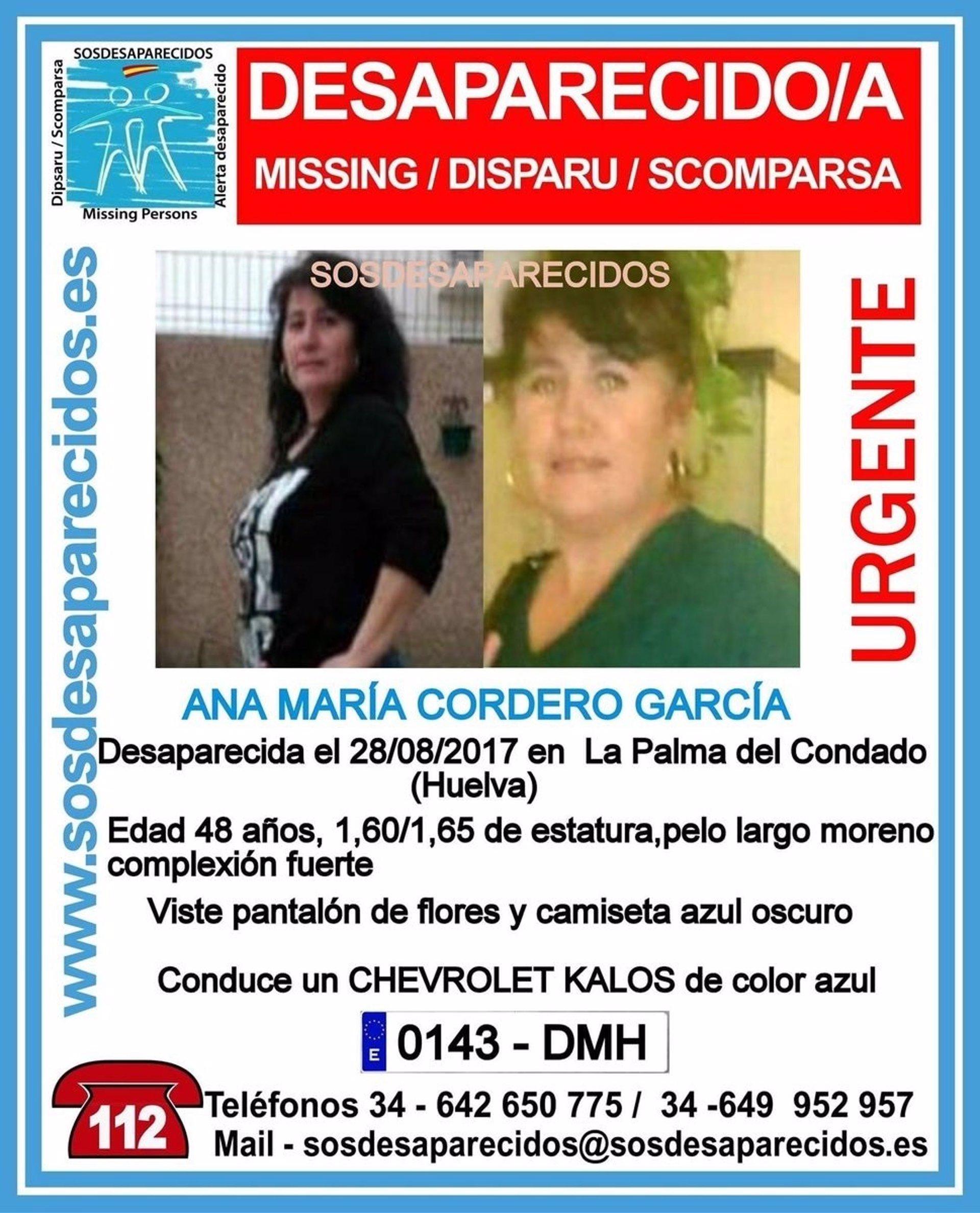 Buscan a una mujer de 48 años desaparecida de La Palma del Condado ...